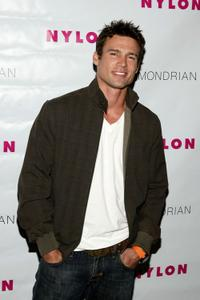 Ethan Erickson at the Nylon Magazine's TV Issue Launch party.