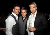 Ethan Erickson, Shaun Sipos and David Paetkau at the CBS, CW, CBS Television Studios and Showtime TCA party.