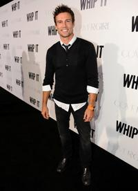 Ethan Erickson at the premiere of