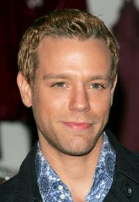 Adam Pascal at the Bloomingdales to promote