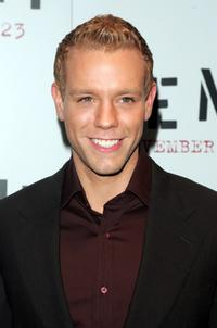 Adam Pascal at the premiere of