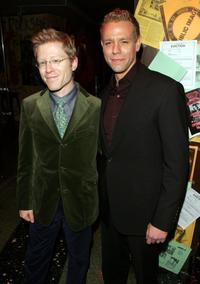 Anthony Rapp and Adam Pascal at the after party of the premiere of