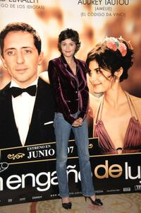 Audrey Tautou at the photocall of