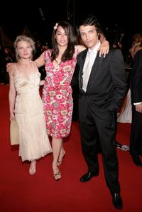 Melanie Thierry, Guest and Vincent Martinez at the screening of