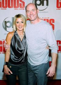 Leigh Koechner and David Koechner at the Las Vegas premiere of