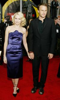 Heath Ledger and Naomi Watts at the 10th Annual Screen Actors Guild Awards.