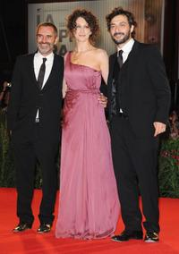 Giuseppe Capotondi, Ksenia Rappoport and Filippo Timi at the 66th Venice Film Festival.