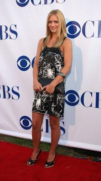 A.J. Cook at the CBS Summer Stars Party 2007.