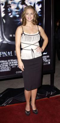A.J. Cook at the world premiere of