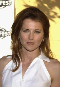 Lucy Lawless at the Outfest 2004 Awards Night during the 22nd L.A. Gay and Lesbian Film Festival.