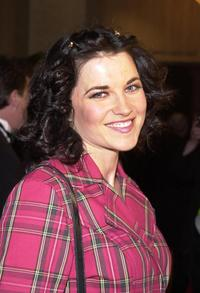 Lucy Lawless at the 2001 ASCAP Film and Television Music Awards.