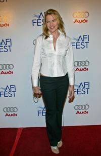 Lucy Lawless at the screening of