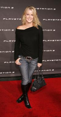 Maeve Quinlan at the Launch Party For Sony Computer Entertainment America Playstation 3.