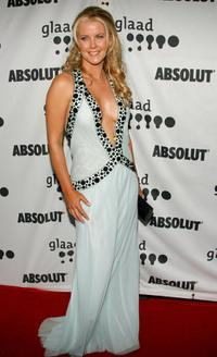 Maeve Quinlan at the 18th Anuual GLAAD Media Awards.