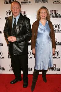 Terry George and Cara Seymour at the special screening of