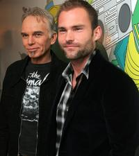 Seann William Scott and Billy Bob Thornton at the MTV's Total Request Live.