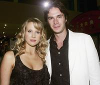 Lucy Punch and James D'Arcy at the screening of