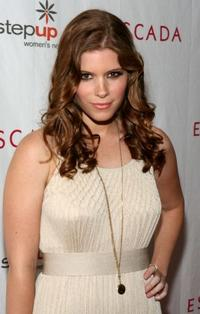 Kate Mara at the Step Up Women's Network toast with Escada and Jessica Alba.