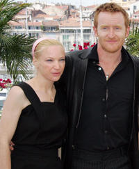 Natalie Press and Tony Curran at the 59th edition of the Cannes Film Festival.