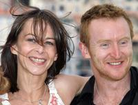 Kate Dickie and Tony Curran at the photocall of