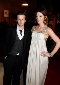 Michael Angarano and Kate Beckinsale at the premiere of