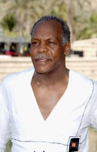 Danny Glover at the DIFF Honouree photo call of the 4th Dubai International Film Festival.