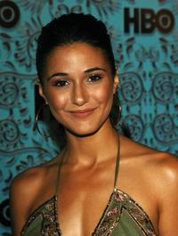 Emmanuelle Chriqui at the HBO Emmy after party.