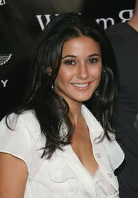 Emmanuelle Chriqui at the William Rast Spring 2007