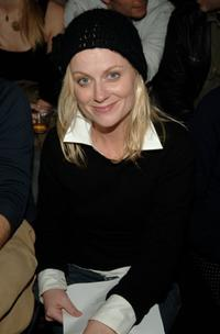 Amy Poehler at the Cloak Fall 2006 fashion show.