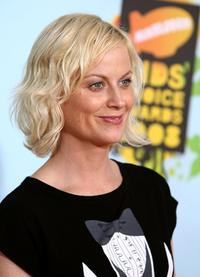 Amy Poehler at the Nickelodeons 2008 Kids Choice Awards.