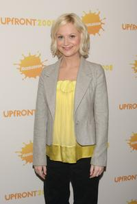 Amy Poehler at the Nickelodeon 2008 upfront presentation.