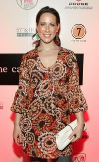 Miriam Shor at the premiere of