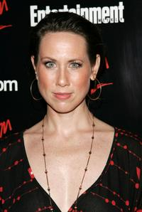 Miriam Shor at the Upfront Party hosted by Entertainment Weekly and Vavoom.