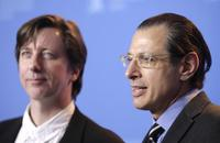 Jeff Goldblum and Hal Hartley at the 57th Berlinale International Film Festival photocall for