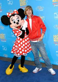 Cody Linley at the premiere of
