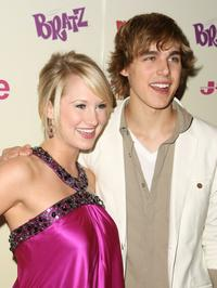 Bailey Hanks and Cody Linley at the J-14 Magazine's