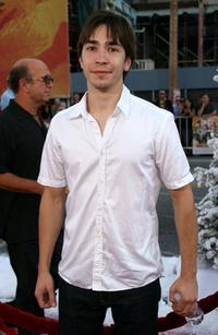 Justin Long at the premiere of