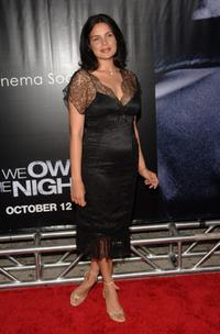 Zuleikha Robinson at the New York premiere of
