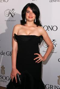 Zuleikha Robinson at the De Grisogono party.