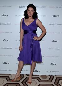 Zuleikha Robinson at the screening of