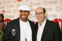 Omar Gooding and Showtime's Chairman and CEO Matt Blank at the premiere of