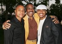Cube Gooding Jr, Cuba Gooding and Omar Gooding at the premiere of