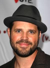 David Denman at the nationwide launch of Rock The Vote 2008.