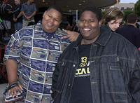 Jamal and Jerod Mixon at the premiere of