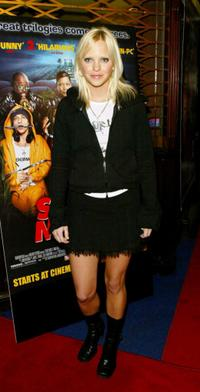 Anna Faris at the European premiere of