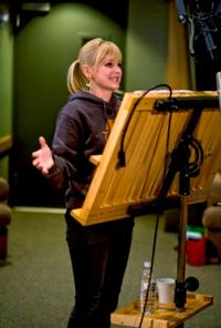 Anna Faris voices Sam Sparks in