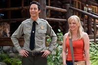 Tom Cavanagh as Ranger Smith and Anna Faris as Rachel in