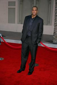 Jay-Z at the 2006 American Music Awards.