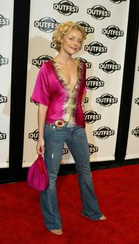 Jessica Cauffiel at the opening night gala of