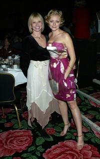 Carrie White and Jessica Cauffiel at the 14th Annual Awards Benefit.